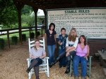 Calle, Carleigh, Kyler, Kelsey and Me at the Ranch