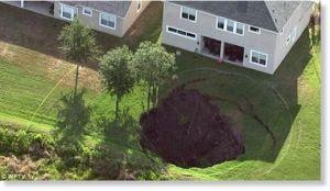 Recent Florida Sinkhole