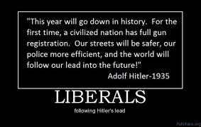 Hitler's quote on gun control