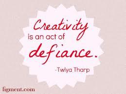 Creativity defiance