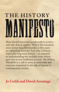 Book cover of The History Manifesto